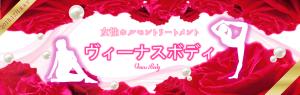 Venus Body Banner ワイズルーム ヴィーナスボディ バナー