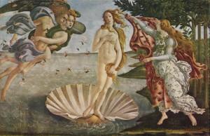 La Nascita di Venere ヴィーナスの誕生