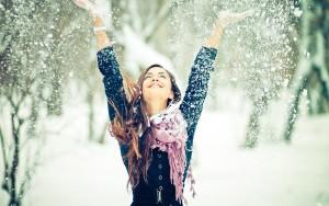 ワイズルーム 冬 女性