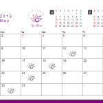 ワイズルーム 2016年 5月 営業日